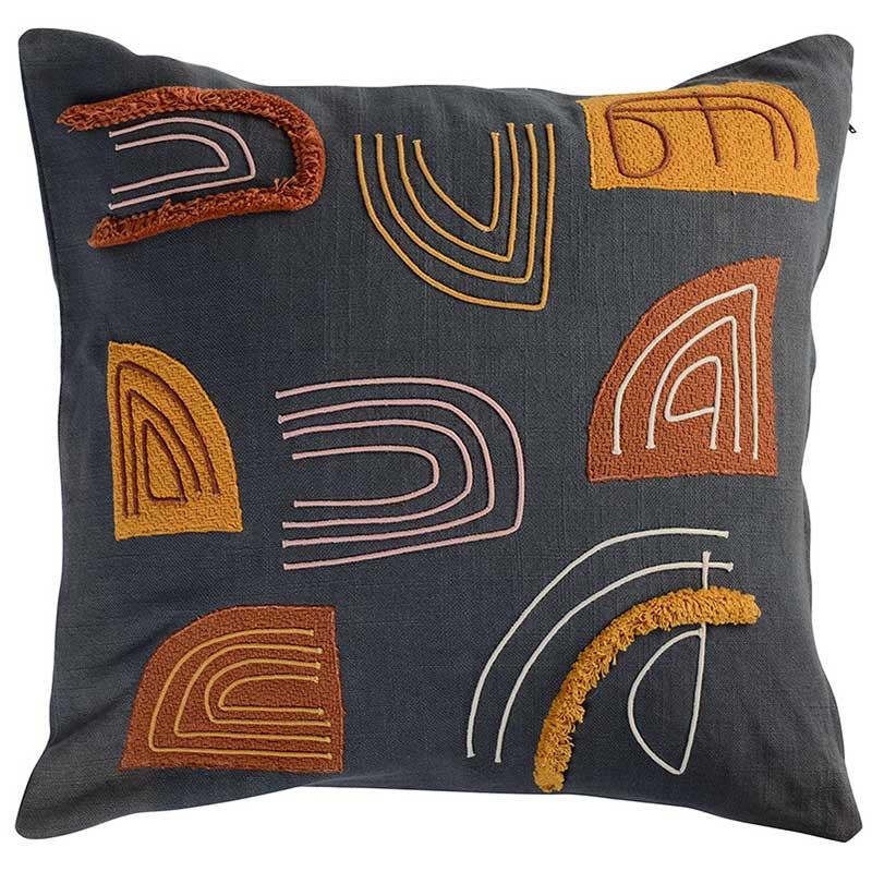 Подушка декоративная Tkano Ethnic с аппликацией 45x45см фото