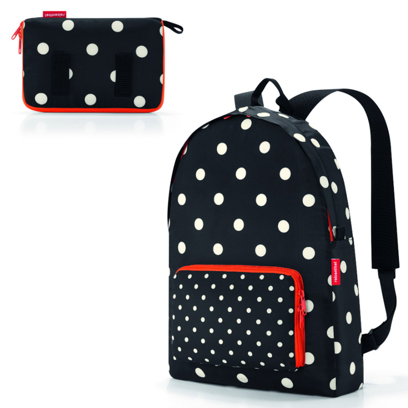 Рюкзак складной Mini maxi mixed dots фото