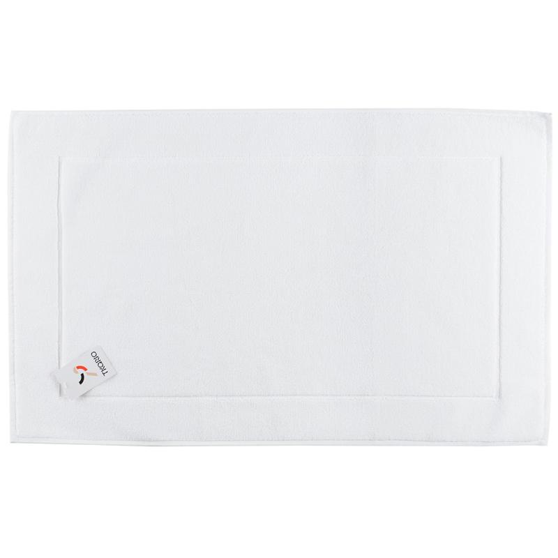 Коврик для ванной белого цвета Essential 50х80 фото