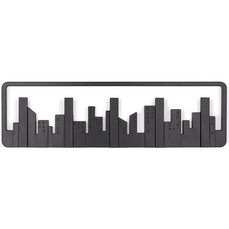 Вешалка настенная Skyline черная фото