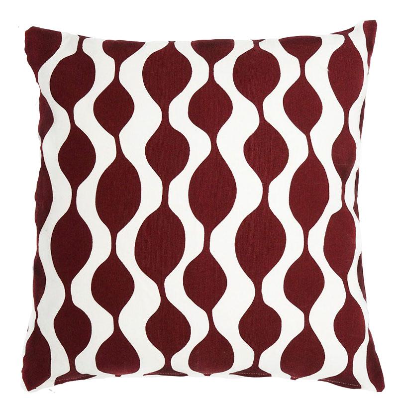 Чехол для подушки Traffic, бордового цвета Cuts&Pieces 45х45 фото