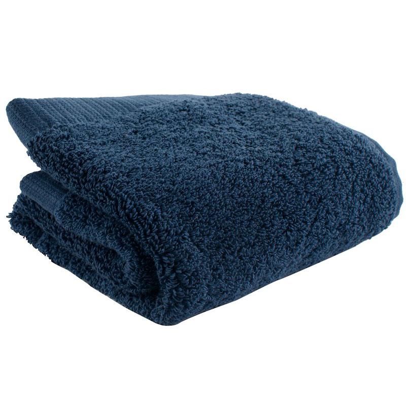 Полотенце для лица темно-синего цвета Essential 30х50 фото