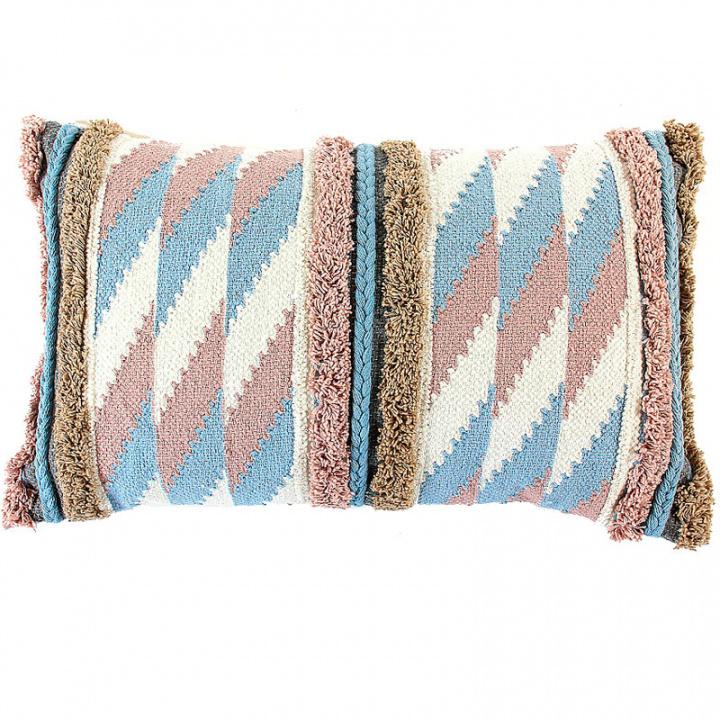 Чехол на подушку Tkano Ethnic с бахромой фото