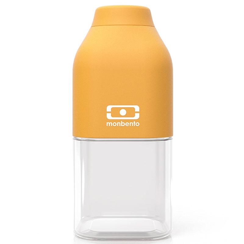 Бутылка MB Positive 0,33 л горчичная фото