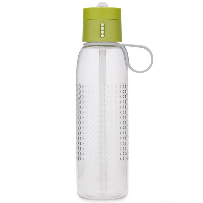 Купить со скидкой Бутылка для воды Dot Active 750 мл зелёная