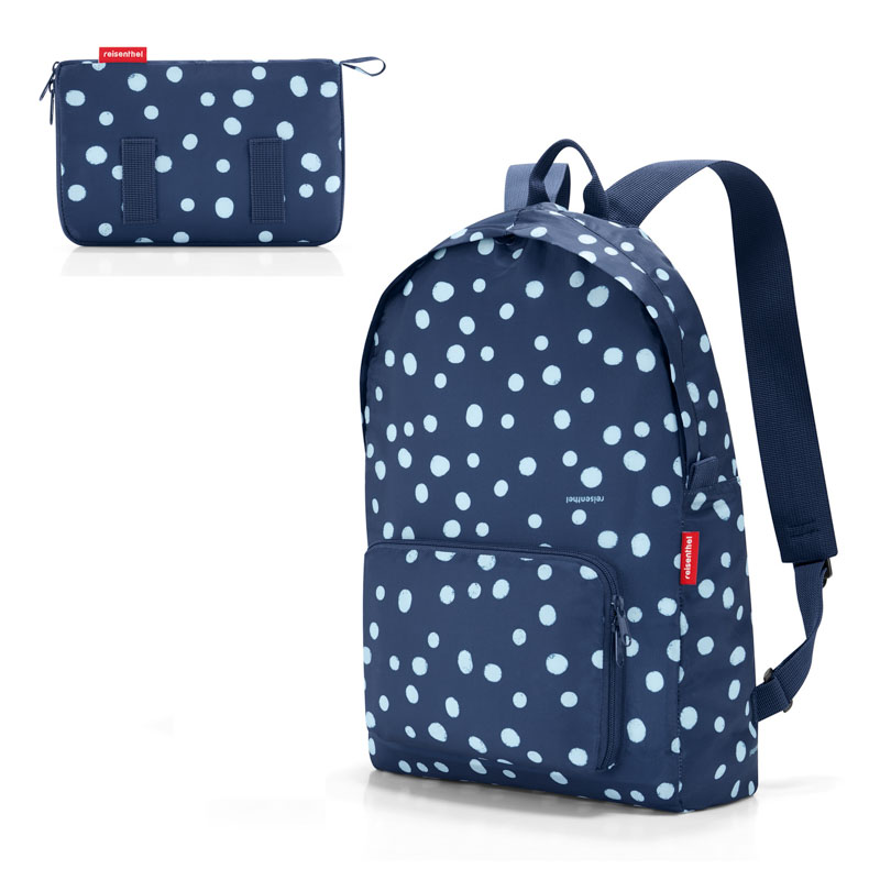 Рюкзак складной Mini maxi spots navy фото