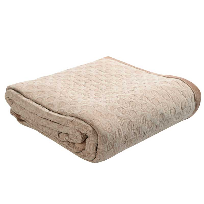 Покрывало 2-спальное Tkano Essential из стираного хлопка фото