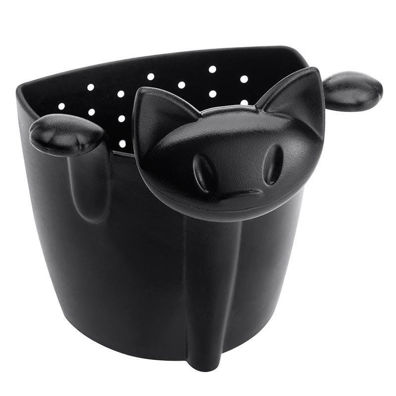 Емкость для заваривания Koziol Miaou, цвет черный фото