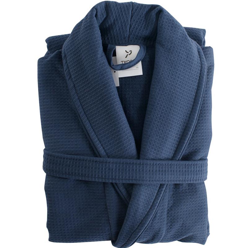 Халат банный темно-синего цвета Essential L/XL фото