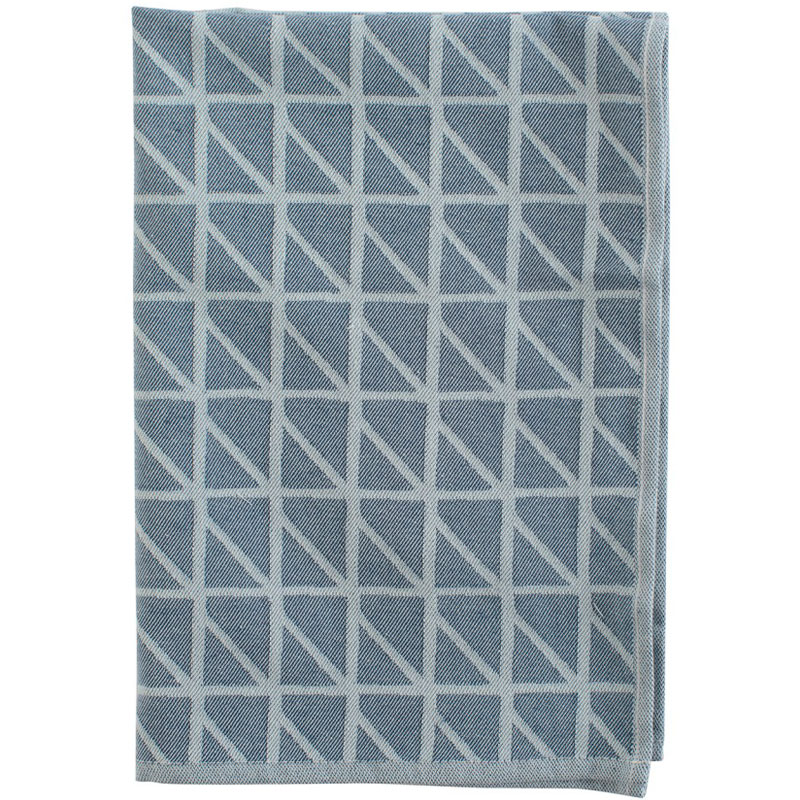 Кухонное полотенце с принтом Twist темно-синего цвета Cuts&Pieces 45х70 фото