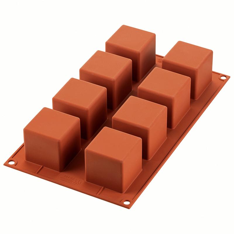 Форма для пирожных Silikomart Cube 5x5см