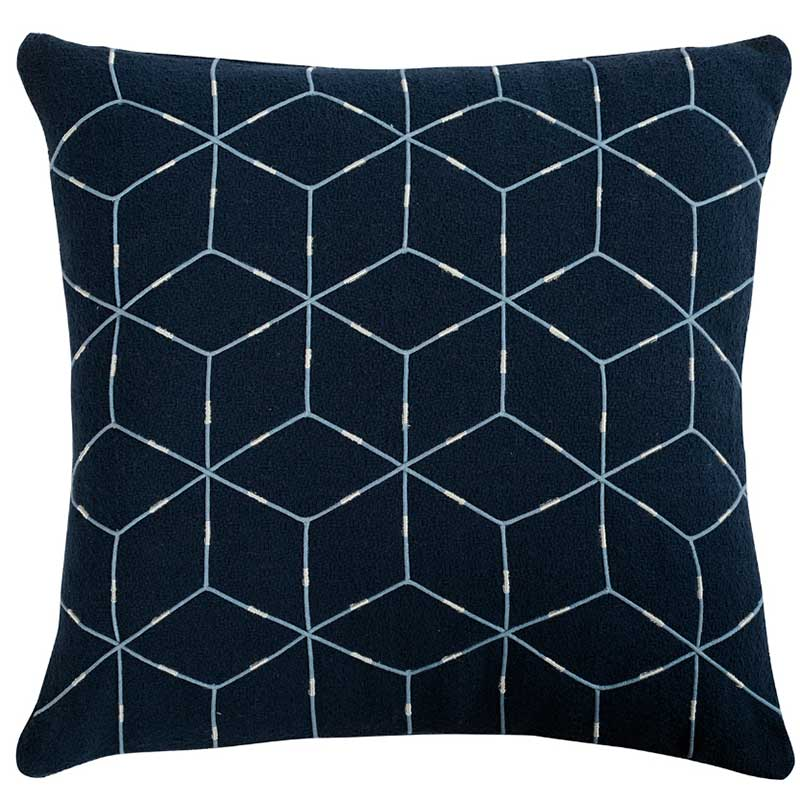 Подушка декоративная Tkano Ethnic 45x45см с геометрическим орнаментом фото