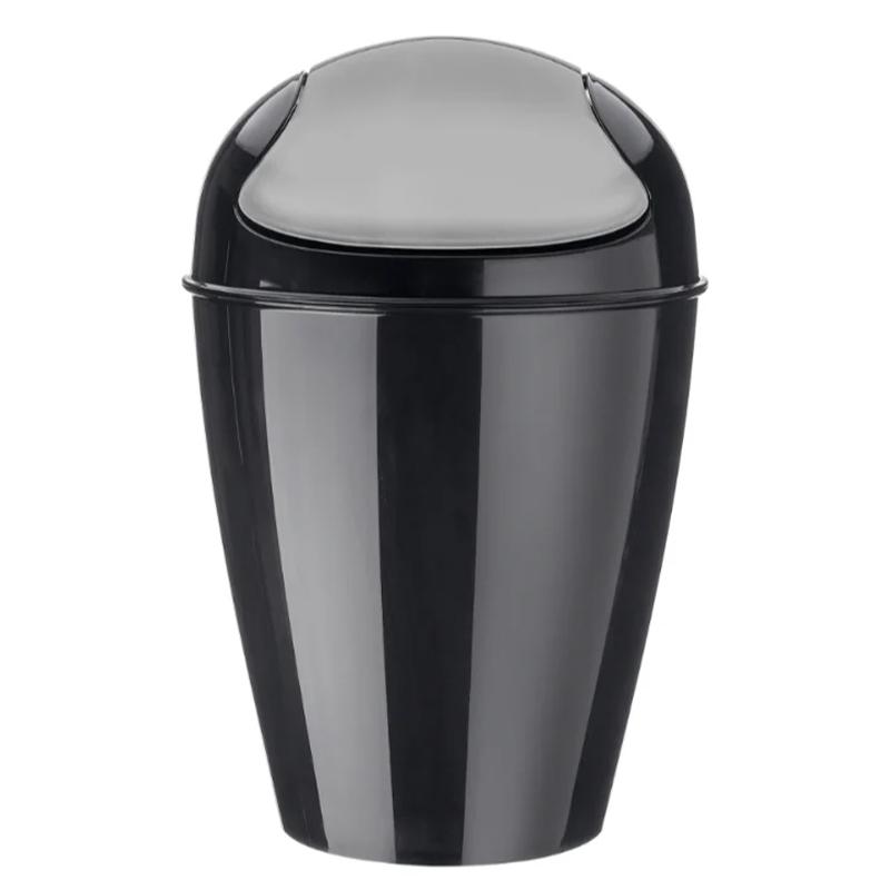 Корзина для мусора с крышкой Koziol Del фото