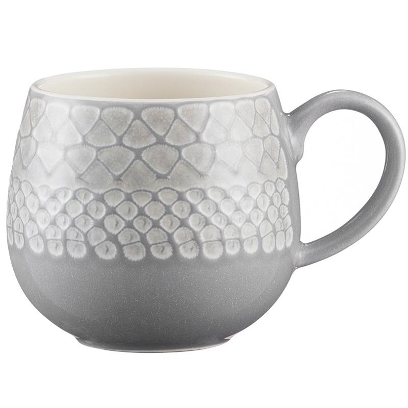 Чашка Impressions 350 мл серая фото