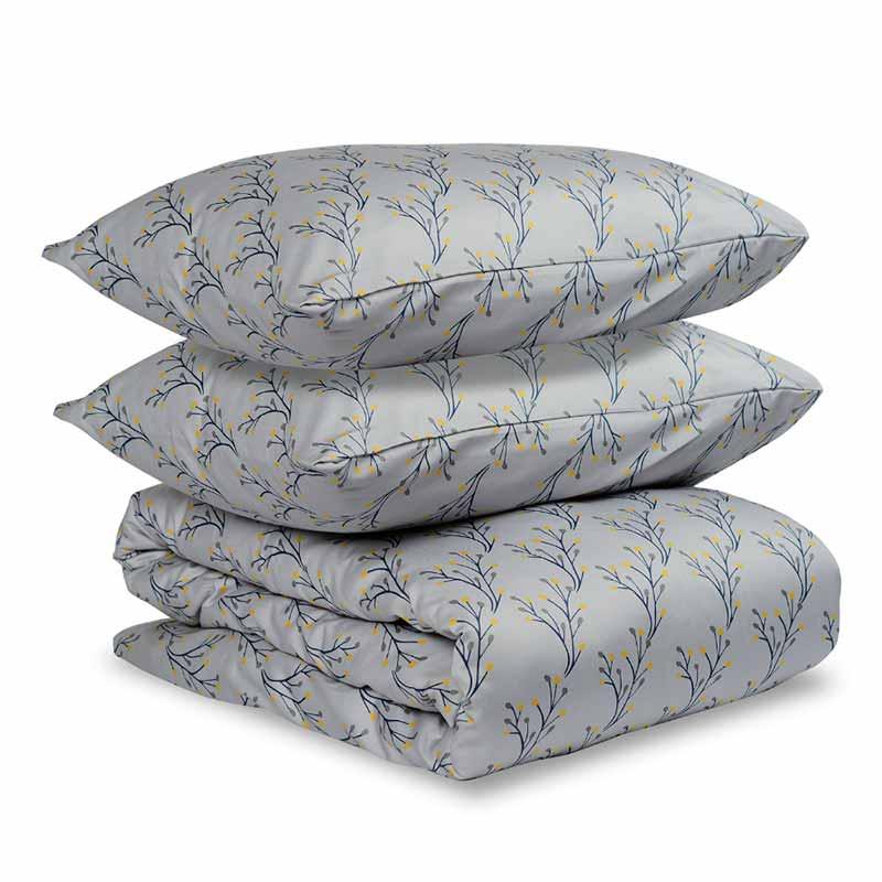 Комплект постельного белья 2-спальный Tkano Essential Соцветие фото