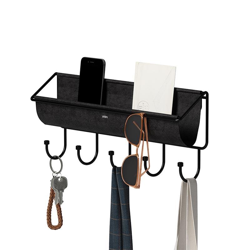 Полка-органайзер Umbra Hammock, цвет черный фото