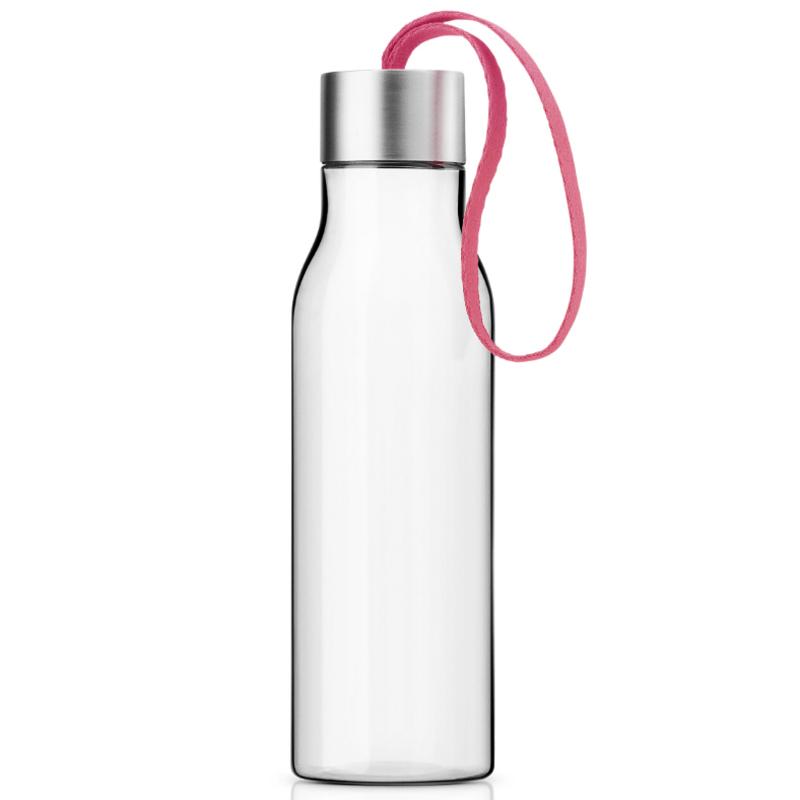 Бутылка 500 мл розовая фото