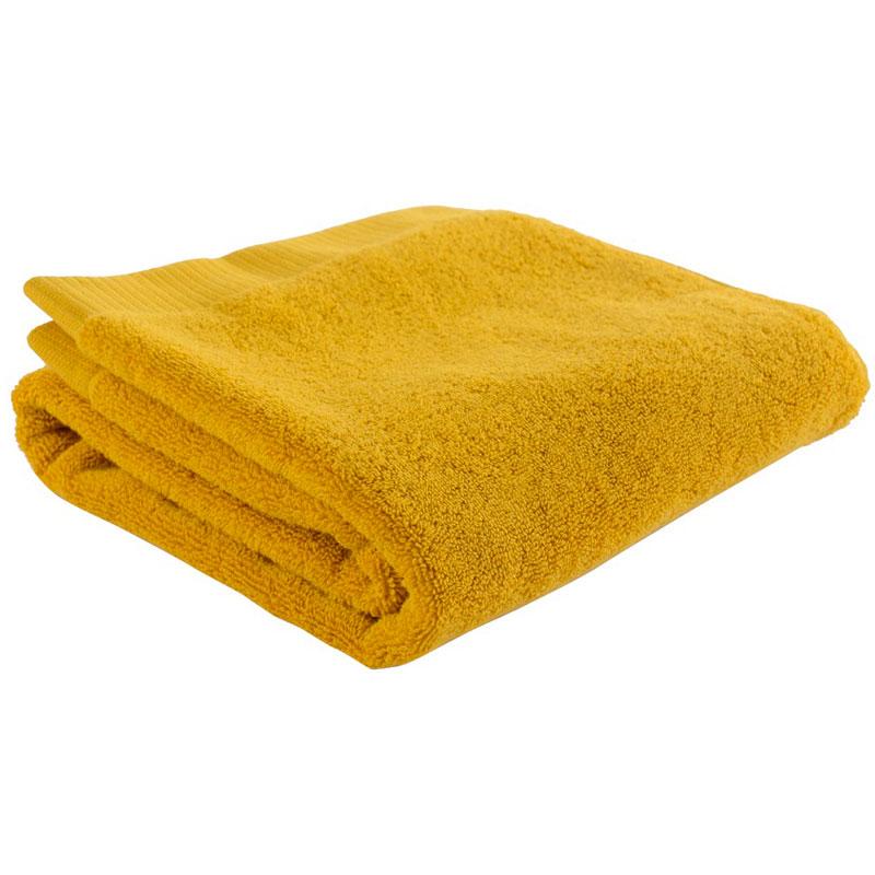 Полотенце для рук горчичного цвета Essential 50х90 фото