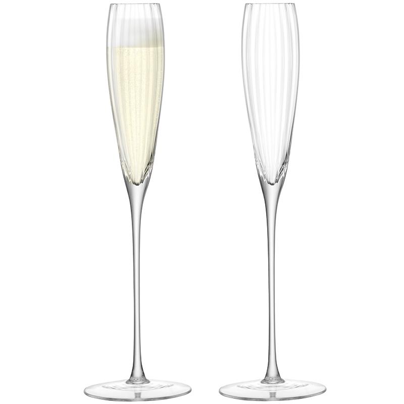 Набор из 2 бокалов-флейт для шампанского Aurelia 165 мл фото
