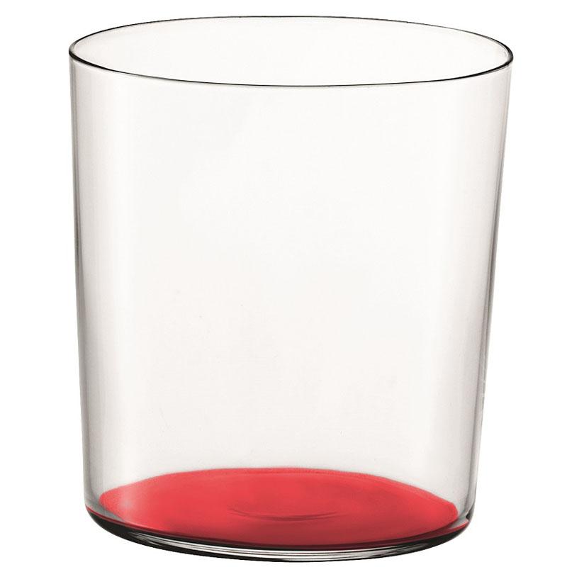 Стакан Gio, 390 мл, красный фото