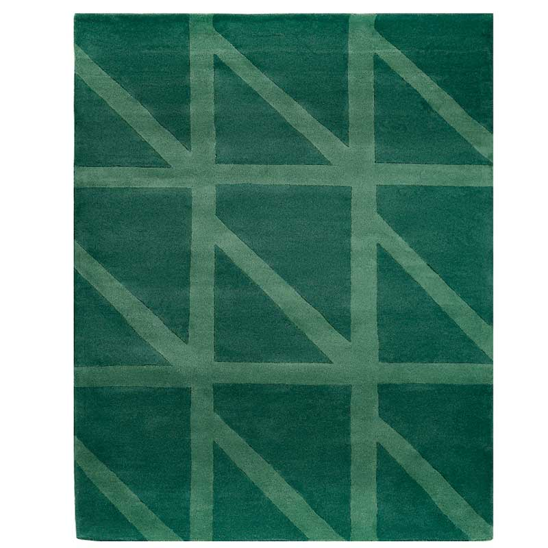Ковер ручной работы Tkano Cuts&Pieces Geometric dance 230x160см фото