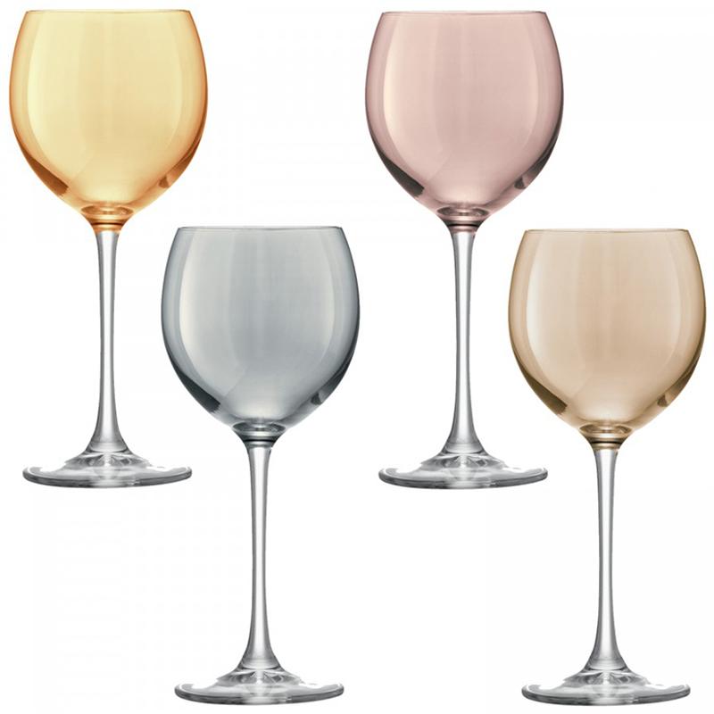 Набор из 4 бокалов для вина Polka