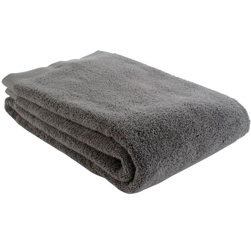 Полотенце банное темно-серого цвета Essential 70х140 фото