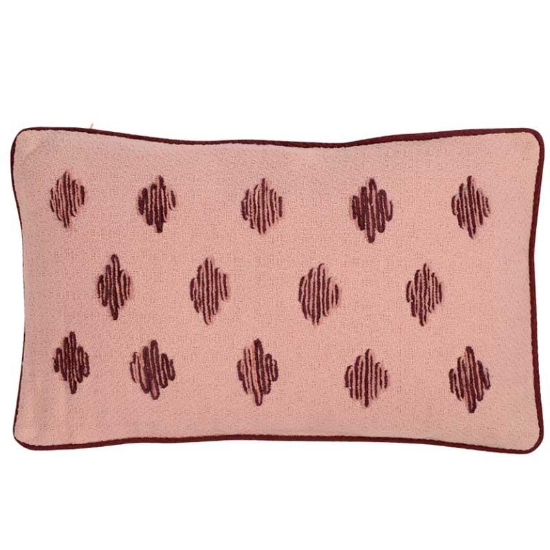Подушка декоративная Tkano Ethnic 30x50см, пыльная роза фото